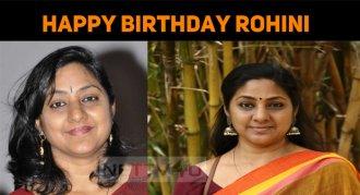 Rohini Celebrates Her Birthday Today!