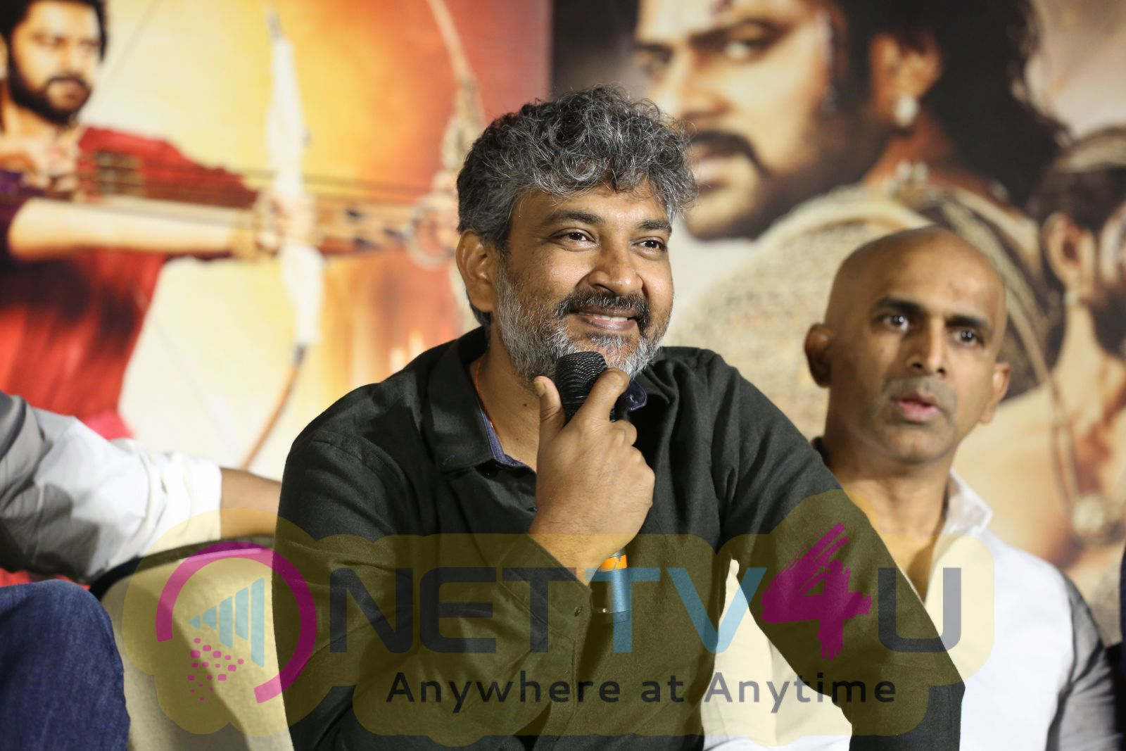 Bahubali 2 Exclusively Trailer Launch Photos Movie Press