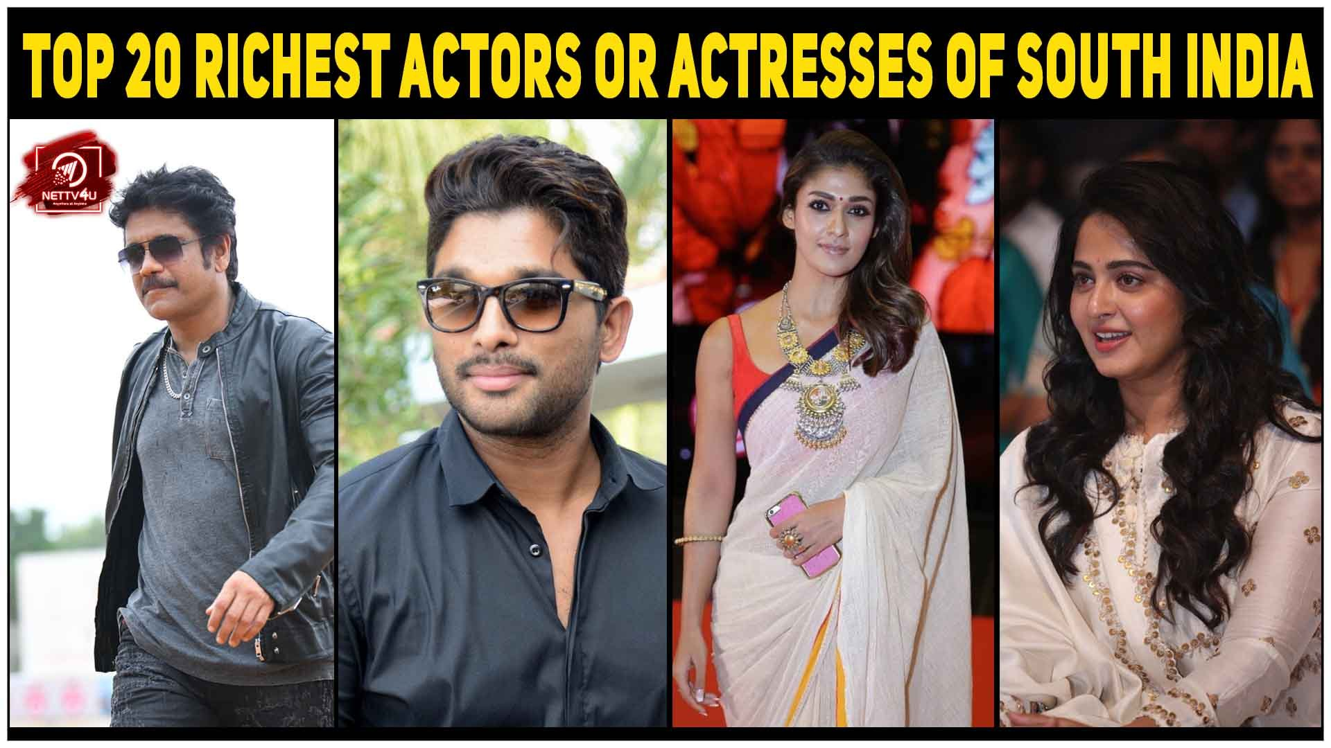 List Of Top 20 Richest Actors And Actresses Of South Films
