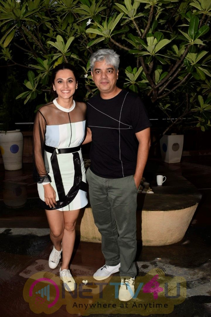Taapsee Pannu And Shaad Ali During Soorma Media Interactions At Novotel Juhu Best Images  Hindi Gallery