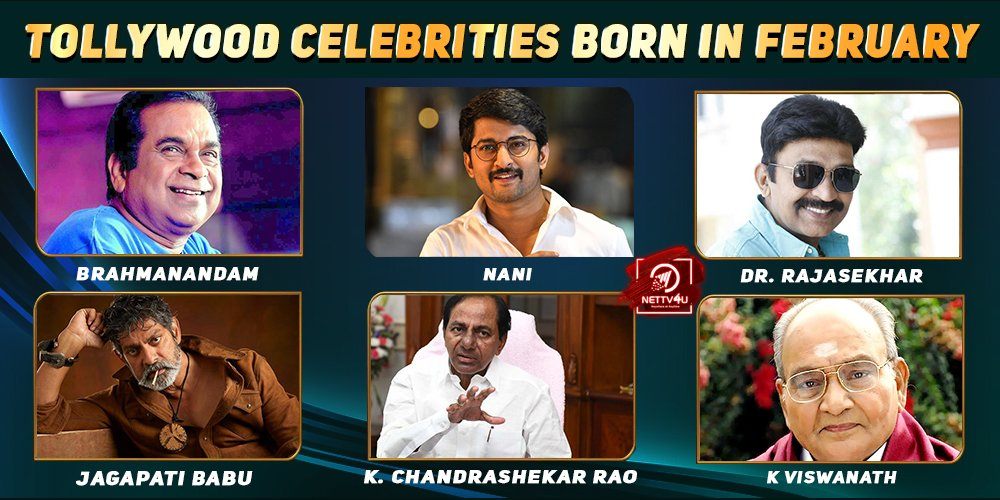 Top Tollywood Celebrities Who Were Born In February