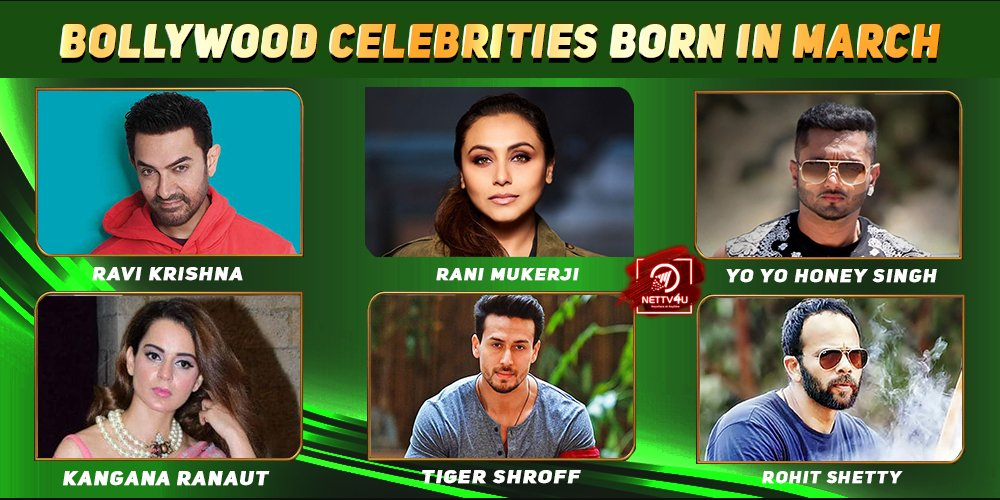 Top Bollywood Celebrities Who Were Born in March