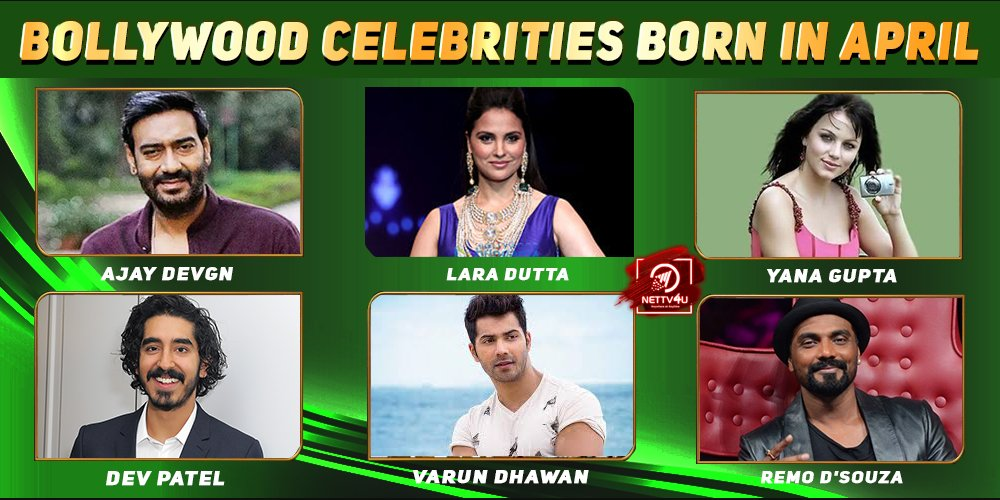 Top Bollywood Celebrities Who Were Born in April