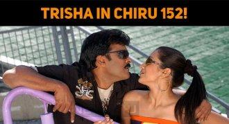 Trisha To Be Confirmed In Chiru 152!