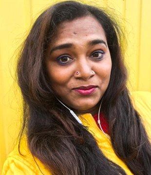 Living Smile Vidya Tamil Actress