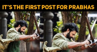 Prabhas Posted His First Photo On Instagram!