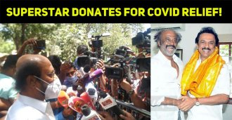 Superstar Donates For Covid Relief!