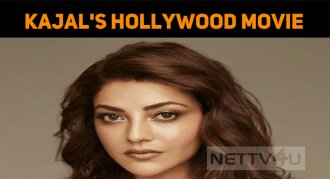 Kajal's Hollywood Movie At A Brisk Pace!