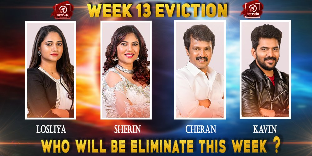 Bigg Boss Season 3 - Tamil - Week(13) Elimination