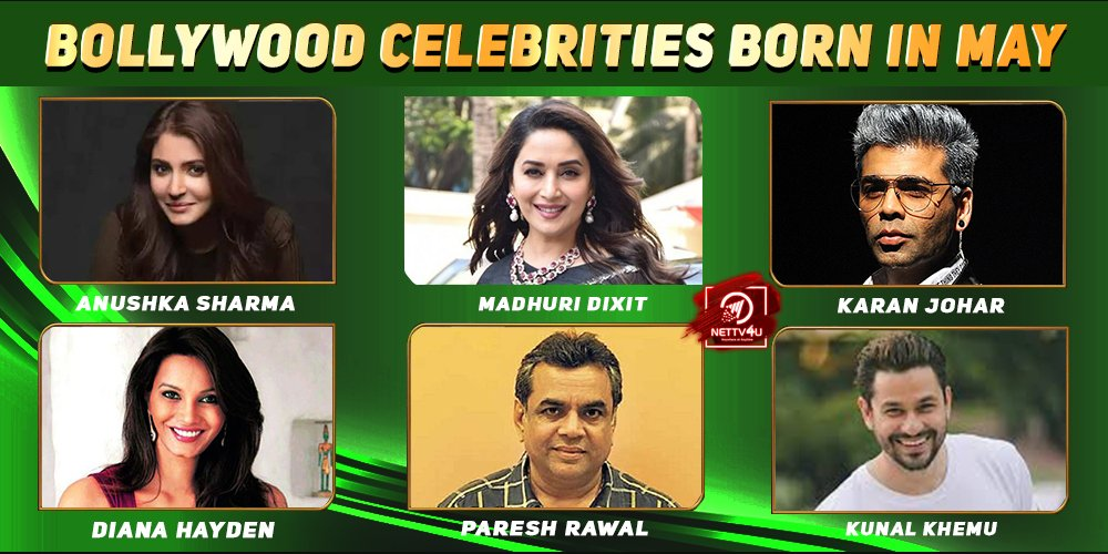 Top Bollywood Celebrities Who Were Born in May