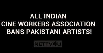 Ban On Pakistani Artists!