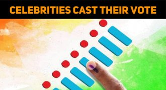 Celebrities Stood In Line And Cast Their Vote!