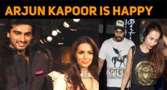 Arjun Kapoor Is Happy In His Personal Life!