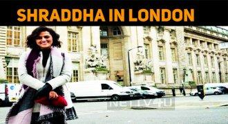 Shraddha Srinath In London?