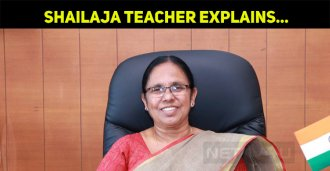 Shailaja Teacher Is The Talk Of The Nation – Wh..