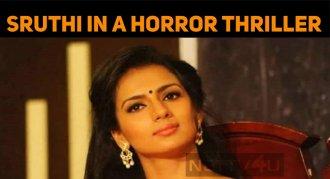 Sruthi Hariharan In A Horror Comedy Film!