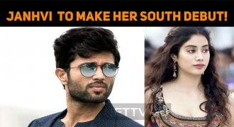 Janhvi Kapoor To Make Her Southern Debut!