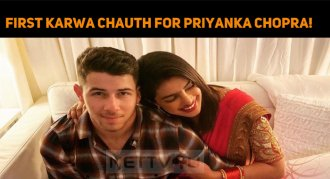 First Karwa Chauth For Priyanka Chopra!