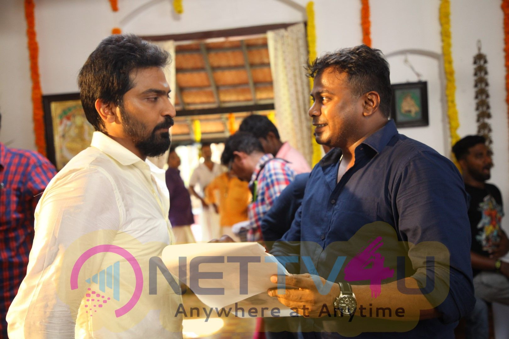 Kaatteri Movie Working Stills Tamil Gallery
