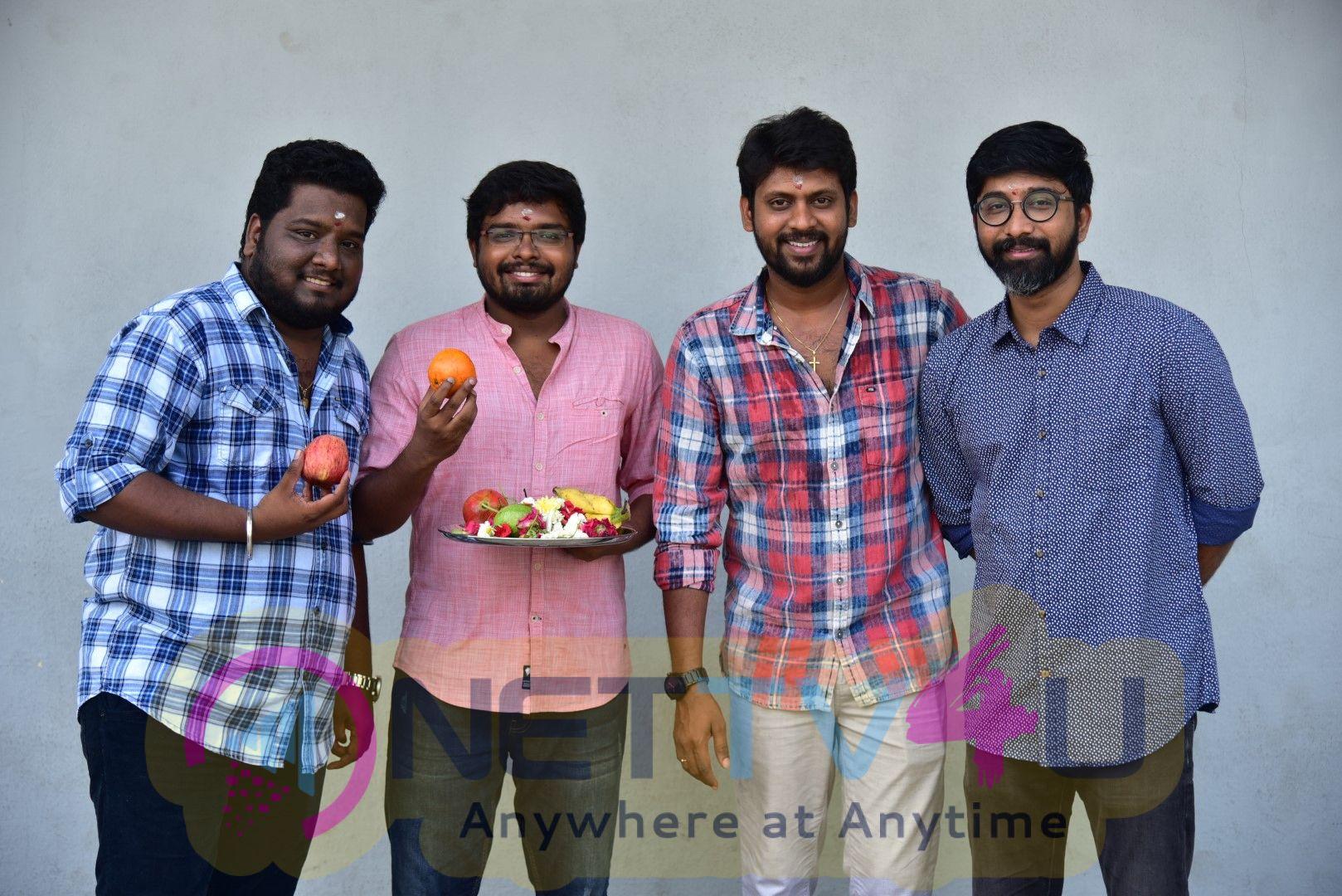 Sivakarthikeyan Productions Production No.2 New Movie Pooja Pics Tamil Gallery