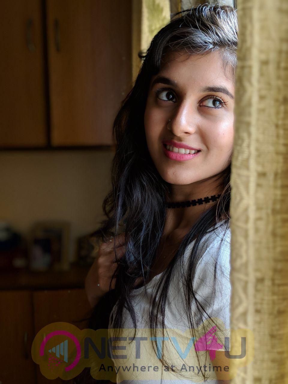 Actress Sanjana Photoshoot Stills Telugu Gallery
