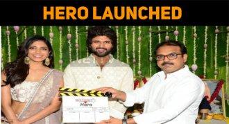 Vijay Deverakonda's Hero Launched!