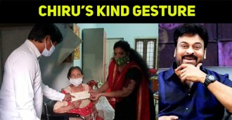 What A Kind Gesture By The Megastar!