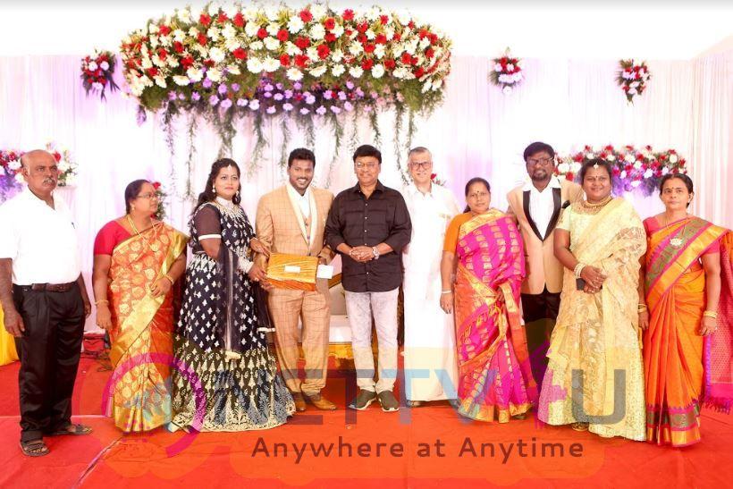 Katamaraju Son Wedding Reception Beautiful Stills Tamil Gallery