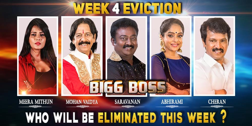 Bigg Boss Season 3 - Tamil - Week(4) Elimination