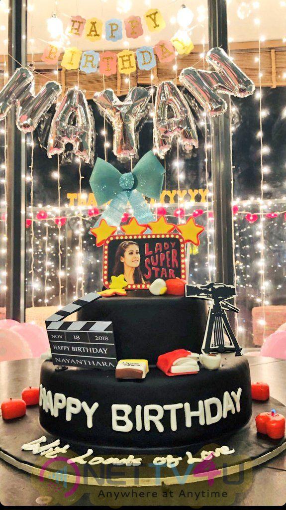 Lady Super Star Nayanthara Birthday Celebration Pics Tamil Gallery