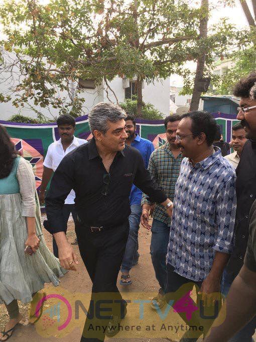 Ajith At Jallikattu Protest Exclusive Pics  Tamil Gallery