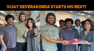 Vijay Deverakonda Starts His Next!