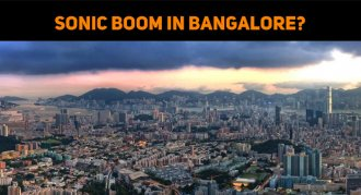 Sonic Boom In Bangalore?