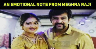 An Emotional Note From Meghna Raj!