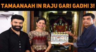 Tamaanaah Signs Raju Gari Gadhi 3!