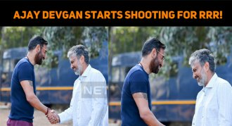 Ajay Devgan Starts Shooting For RRR!