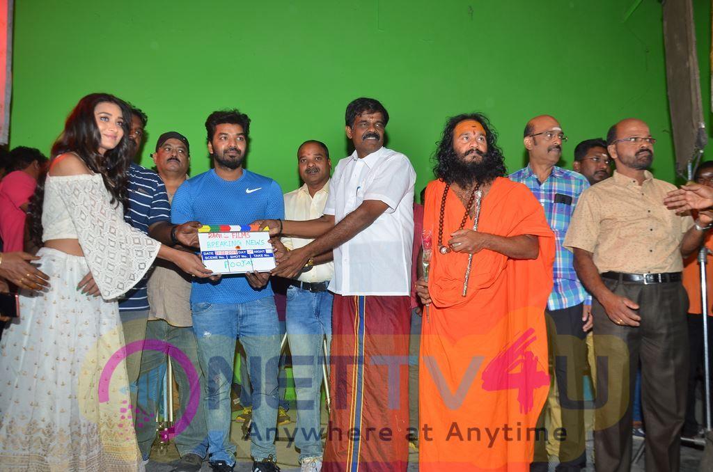 Breaking News Movie Pooja Photos Tamil Gallery