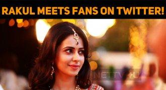 Rakul Meets Fans On Twitter!