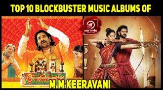 Top 10 Blockbuster Music Albums Of M.M Keeravani