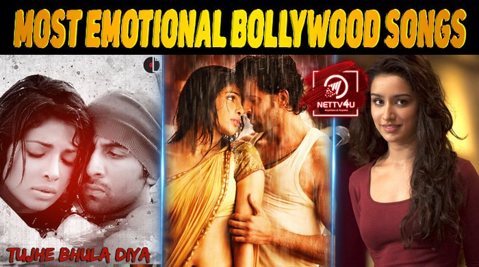 Top 10 Most Emotional Bollywood Songs Latest Articles Nettv4u We cannot imagine a bollywood movies without a song, it's like a soul of the movie. top 10 most emotional bollywood songs