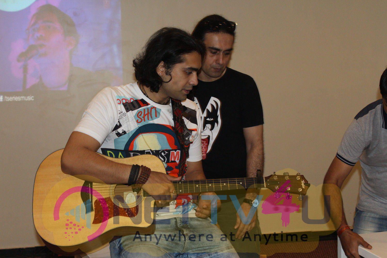 Special Performance Of His Latest Single Haaye Dil With Jubin Nautiyal Stills Hindi Gallery