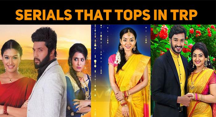 Zee Tamil Serial Tops The TRP Chart! | NETTV4U