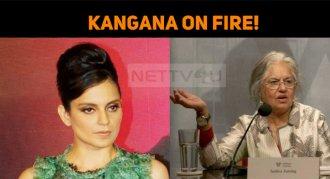 Kangana On Fire!