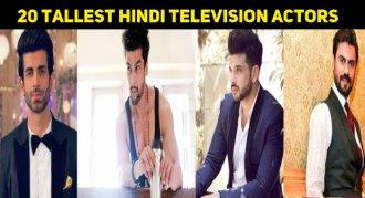20 Tallest Hindi Television Actors