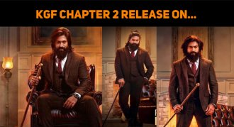 KGF Chapter 2 To Release On...