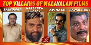 Top 5 Villains of Malayalam Films