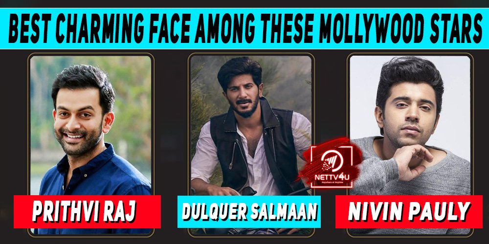 Who Has The Best Charming Face Among These Mollywood Stars?