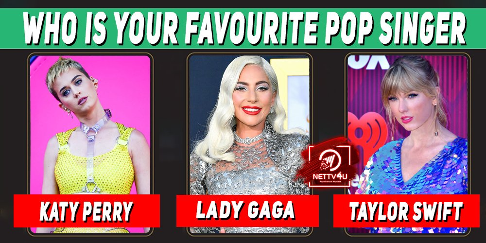 Who Is Your Favourite Pop Singer ?