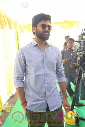 Sharwanand Hanu Raghavapudi Movie Opening Photos Movie Press Meet