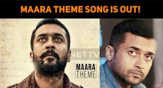 Maara Theme Song Is Out! Suriya Rocks!